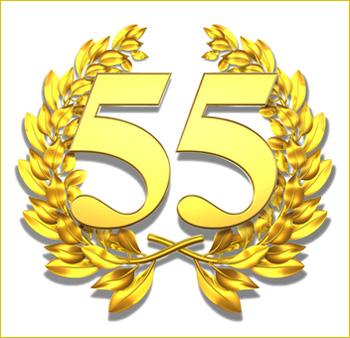 Поздравления с юбилеем женщине 55 лет - лучшие поздравления с юбилеем